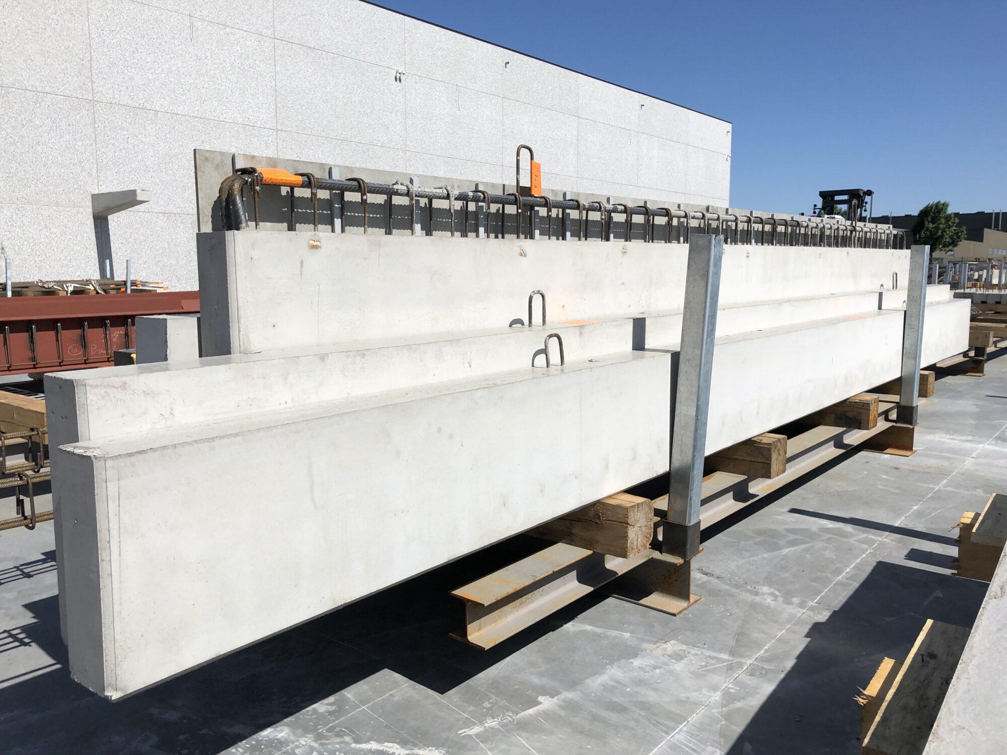 Prefab betonbalken